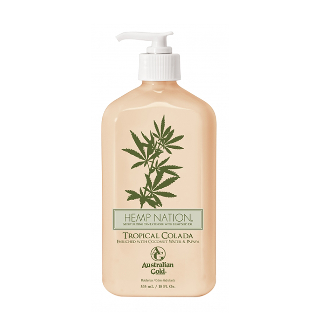 Lotiune de dupa bronzare Hemp Nation Tropical Colada