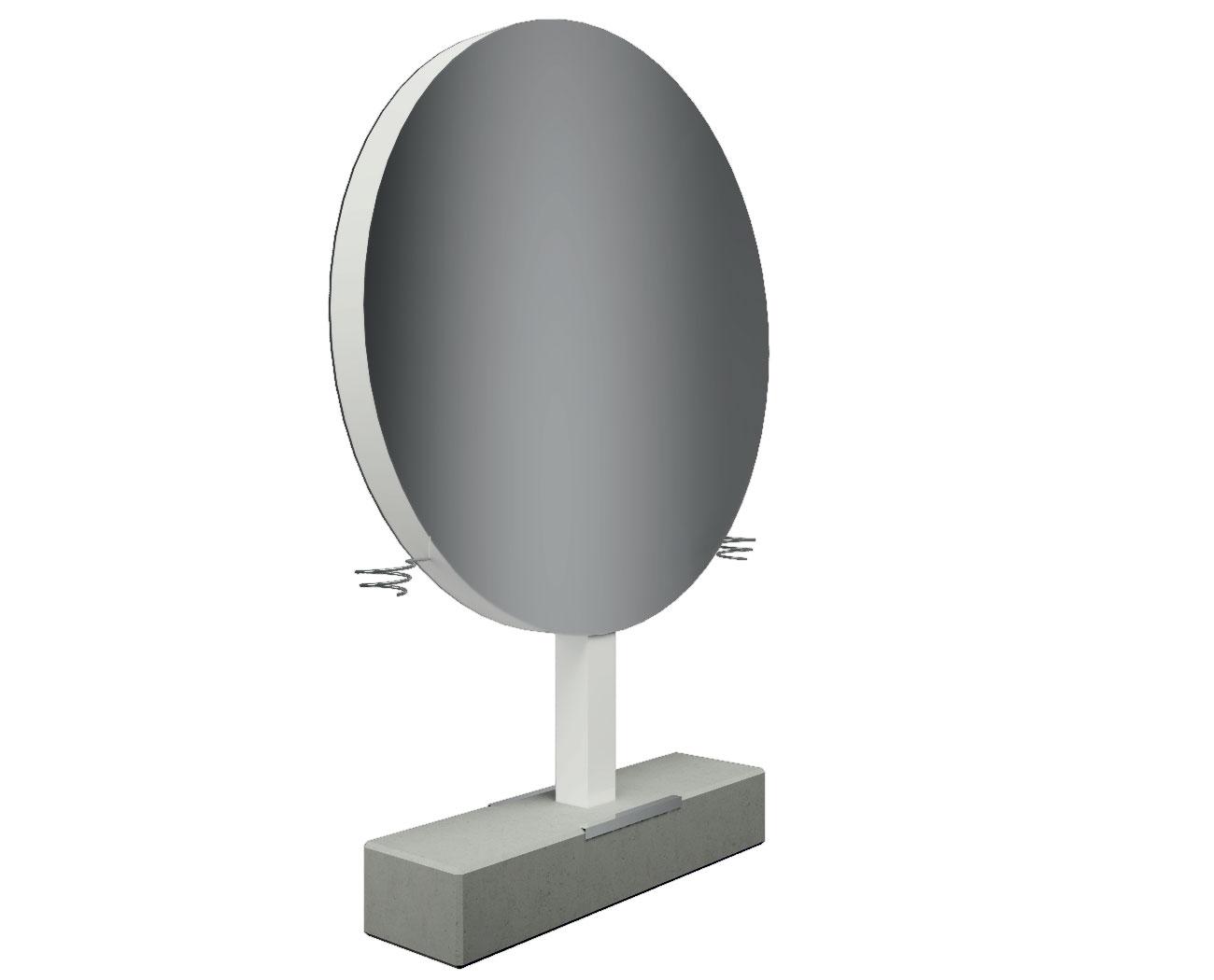 Oglinda coafor GIOTTO