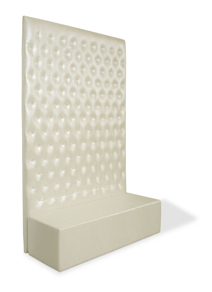 Mobilier asteptasare WHITE